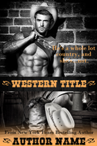 Pre-Made Western Cover