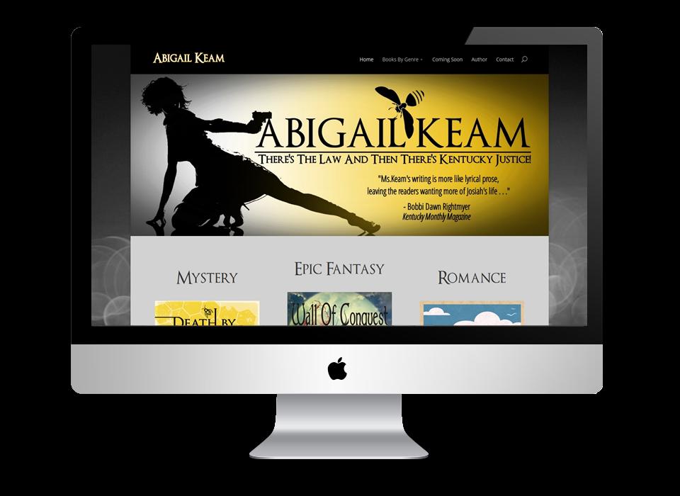 Abigail Keam's Website