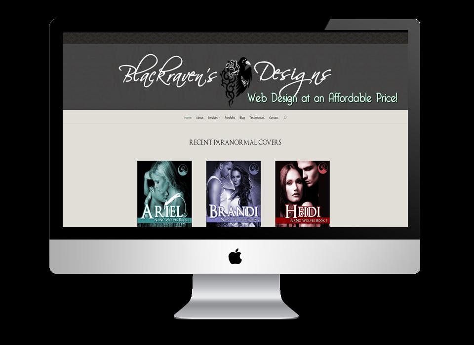 Blackraven's Designs Website