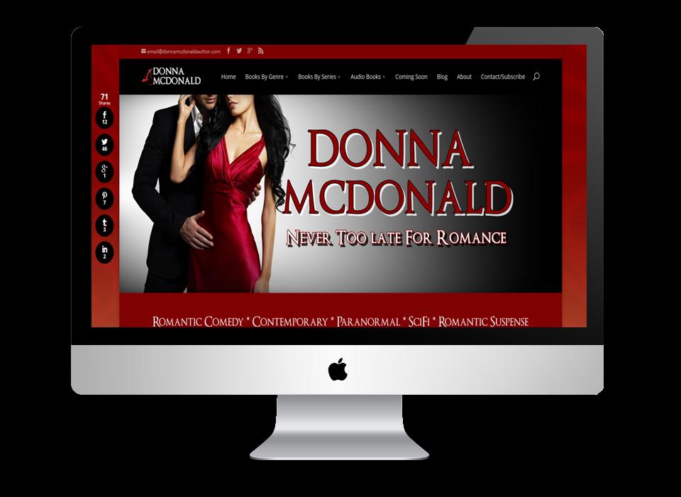 Donna McDonald's Website