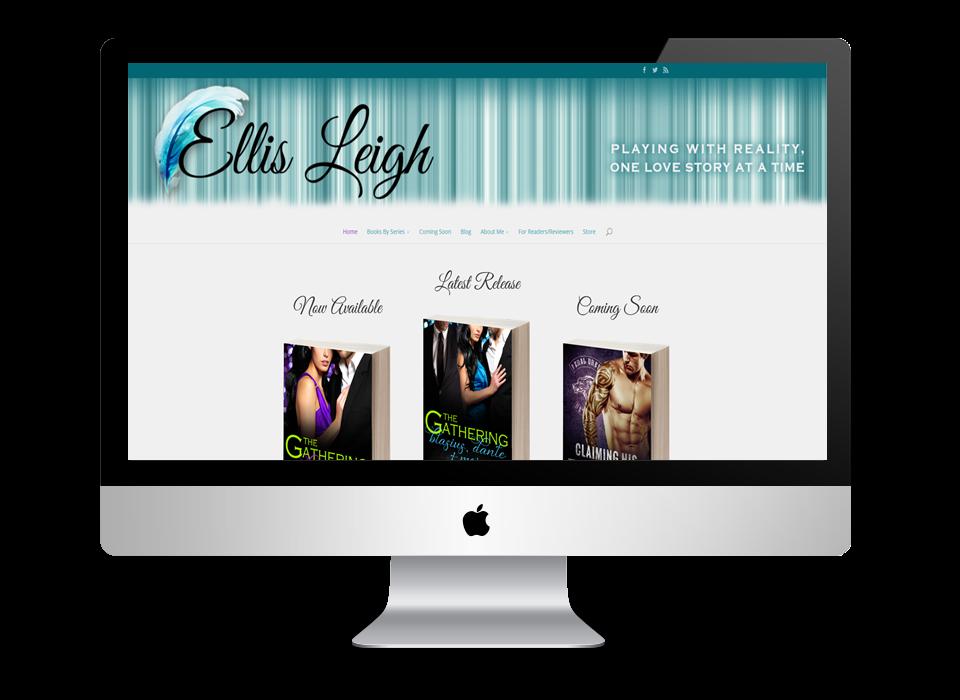 Ellis Leigh's Website Updated